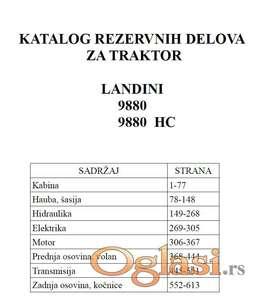 Landini 9880 (HC) - Katalog delova