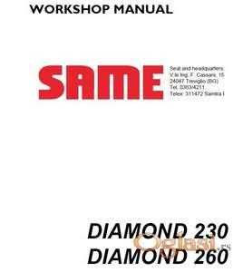 Same Diamond 230 - 260 Radionički priručnik ZA HIDRAULIKU I ELEKTRIKU