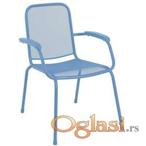Baštenska metalna stolica Lopo – više boja