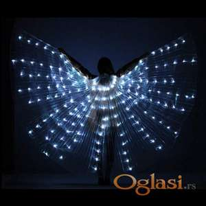 LED krila za ples