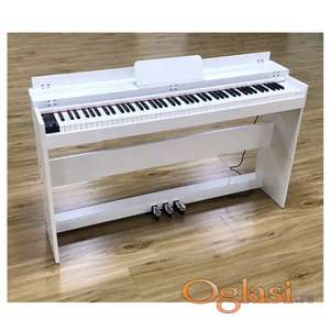 NOVO - Digitalni Pianino - Moller Germany - 88hamer dirki + poklopac