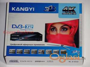 Set Top Box KANGYI K300 DVB-T2 digitalni risiver