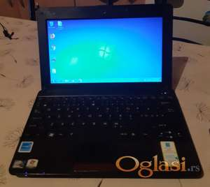 Asus Eee PC 1001PX Intel N450/2gb ddr3/250gb hd/kamera