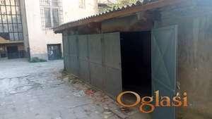 Garaža u strogom centru 51m2-Pionirska