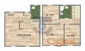 Lux cetvorosoban stan u izgradnji na Klisi!!!021/662-0001