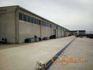Izdavanje industriskih hala u Žablju