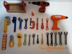 Set plastičnog alata