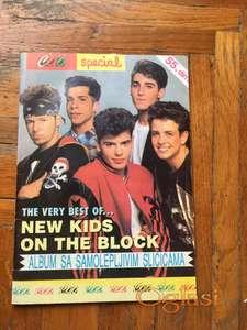 New Kinds on the Block - album sa sličicama (Retkost)