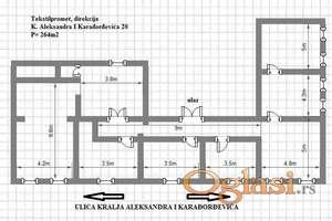 Zrenjanin, Centar, pešačka zona - Stambeno poslovni objekat
