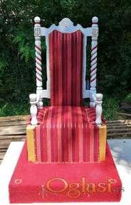 Fotelja za slavljenika 10 - na stanju
