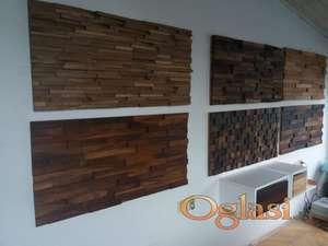 Drvene zidne obloge