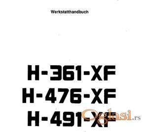 Hurlimann 361 XF - 476 XF - 491 XF Radionički priručnik