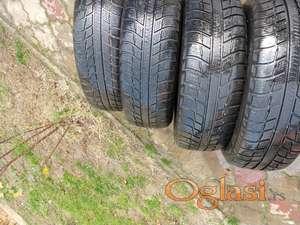 Prodajem polovne gume R14,16,17 i felne R14 za Pezo 206,Pola