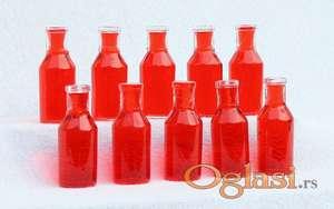 Apotekarske stare flašice, bele, 20 ml. 10 kom.
