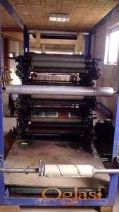 Industrijska cetvorobojna flekso stamparska masina