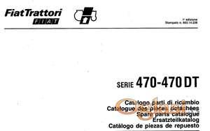 Fiat 470 - 470 DT Katalog delova