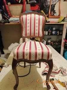 Stilske stolice - reparacija