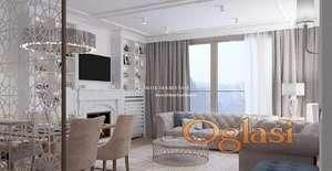 Izdavanje- Lux stan sa 2 garažna mesta, nov, neuseljavan, Skyline