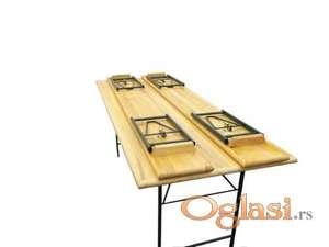 Pivska garnitura slavski stolovi