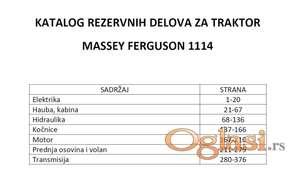 Massey Ferguson 1114 - Katalog delova