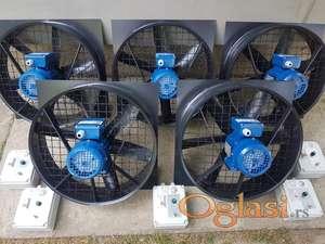 Ventilatori za farme pilica