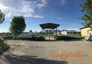 Farma pilića sa 6 objekata i upravnom zgradom na parceli od 3 hektara građevinskog zemljišta u Inđiji