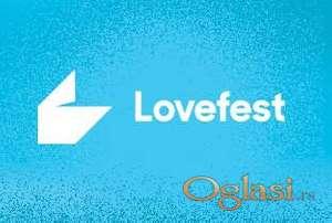 Prodajem trodnevnu kartu za Love Fest 2021