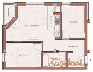 TELEP, 55 m2, 87250 EUR