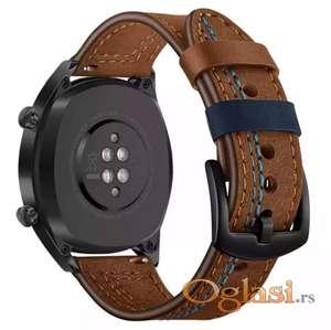Samsung gear s3 frontier narukvica (braon, plav konac)