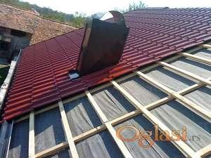 Krov, Popravka i izgradnja novih krovova