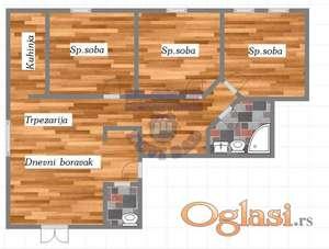 Odličan četvorosoban stan u Cara Dušana * 021/6322-111 *
