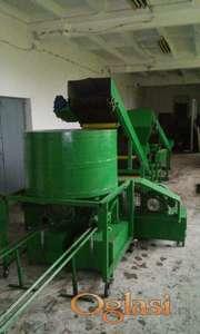 Briket mašina kapaciteta od 1 tone po satu