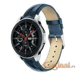 Kozna plava narukvica Samsung galaxy watch 46 mm