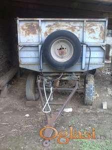Traktorska prikolica 4t kiper sa dve osovine