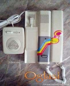 Interfon slušalica i spoljna jedinica