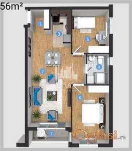 Stanovi u izgradnji sa građevinskom dozvolom ID#1264