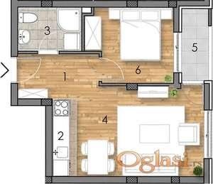 CENTAR, 38 m2, 69800 EUR