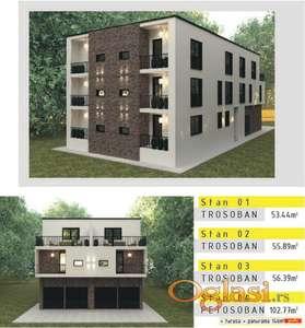 Pošten investotor prodaje stan u novogradnji (urbana vila)