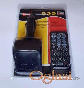 Bluetooth FM Transmiter MP3 plejer za auto