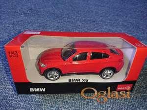 BMW X6 - metalni auto