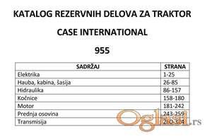 Case International 955 - Katalog delova