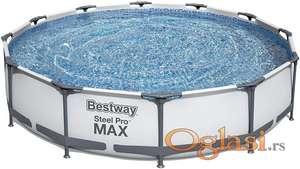 Bestway bazen steell pro max 366x76 čelična konstrukcija!