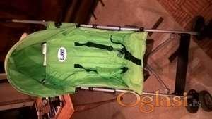 Puerri kolica za bebe Sunny Zelena
