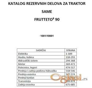 Same Frutteto 3 90 - katalog delova