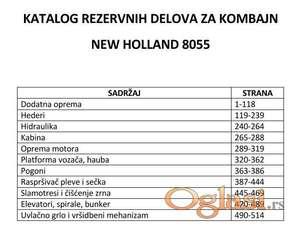 New Holland 8055 - katalog delova