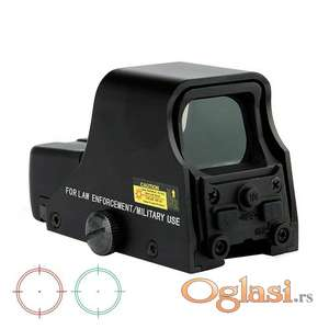 Outdoor Hunting Red Green Dot 551