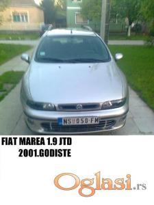 Novi Sad Fiat Marea 2001
