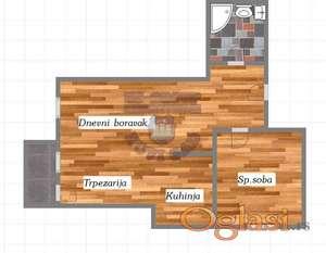 Dvosoban stan u izgradnji ! PDV !