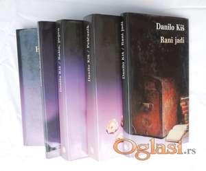 Danilo Kiš - komplet od 5 knjiga.