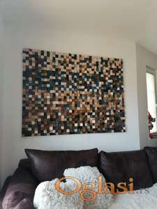 Drvena zidna dekoracija